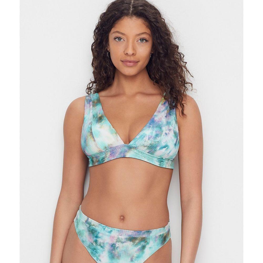 ベッカ Becca レディース トップのみ 水着・ビーチウェア【Crystal Lake Plunge Bikini Top】Multi