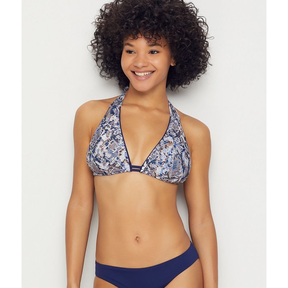 ベッカ Becca レディース トップのみ 水着・ビーチウェア【Animal Kingdom Triangle Bikini Top D-DDD Cups】Python