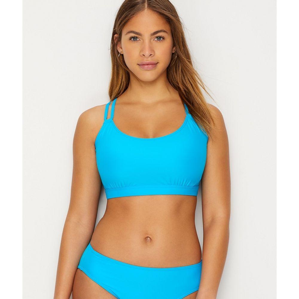 サンセット Sunsets レディース トップのみ 水着・ビーチウェア【Poolside Blue Taylor Underwire Bikini Top】Poolside Blue