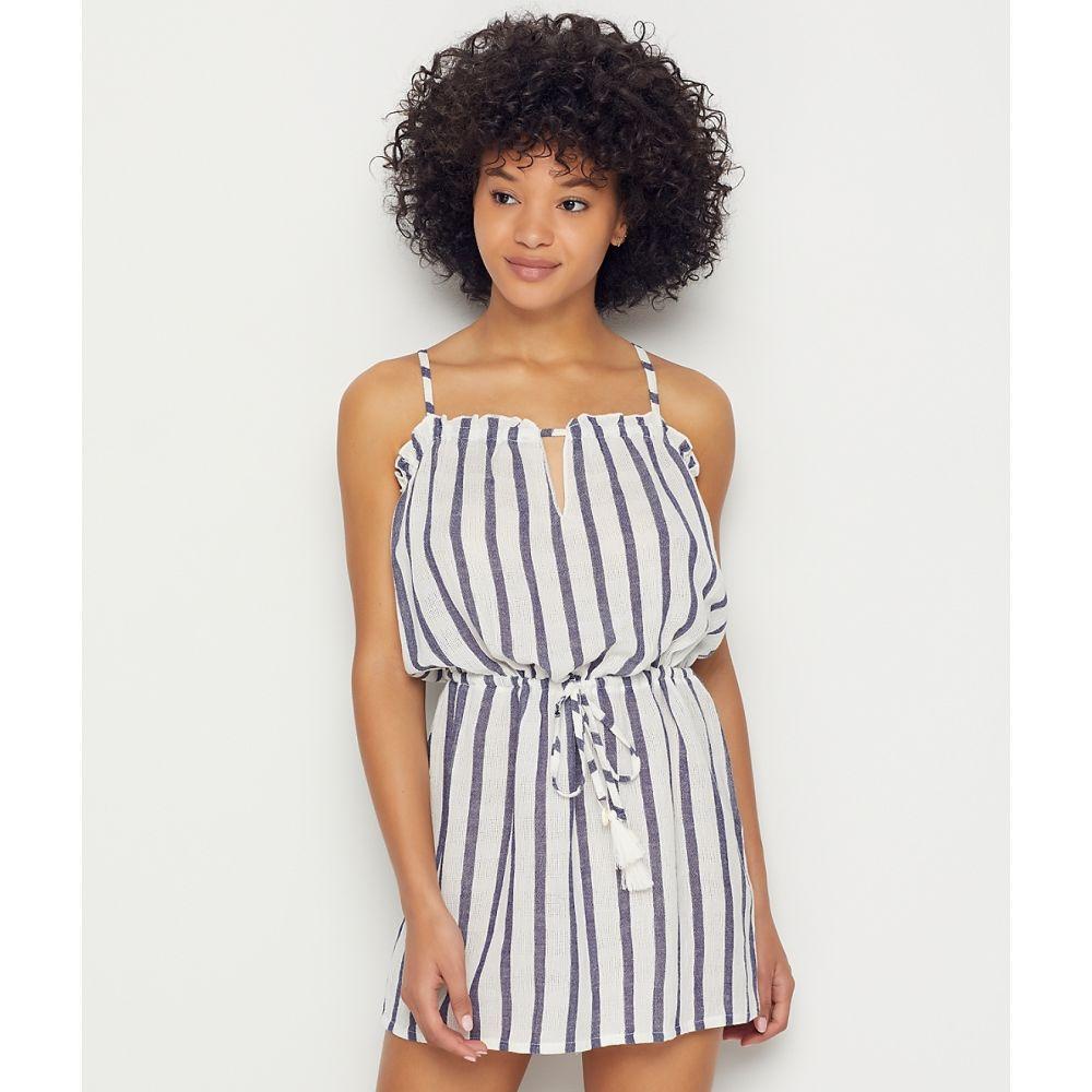 ベッカ Becca レディース ビーチウェア ワンピース・ドレス 水着・ビーチウェア【Serengeti Cover-Up Dress】Navy