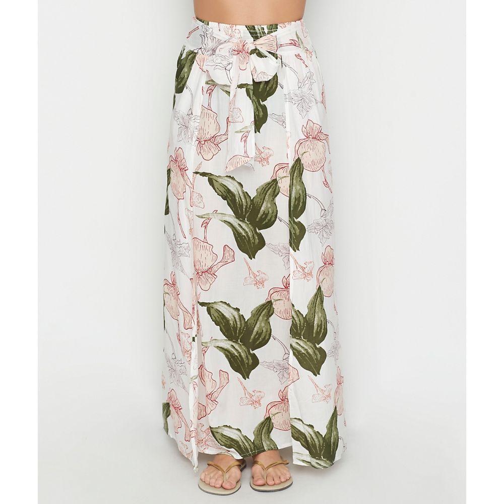 エラン Elan レディース ビーチウェア ロング・マキシ丈スカート 水着・ビーチウェア【Floral Maxi Skirt Swim Cover-Up】Floral Pink