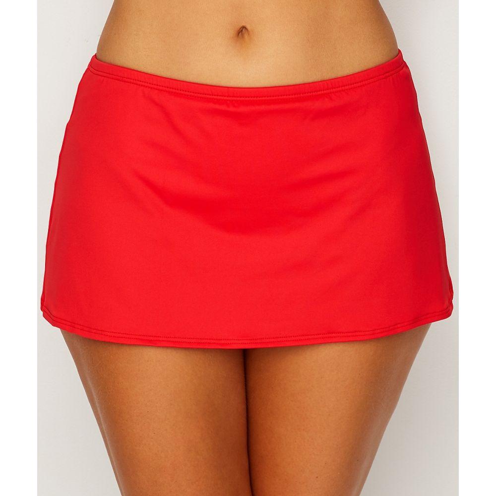 サンセット Sunsets レディース ボトムのみ 水着・ビーチウェア【Scarlet Kokomo Skirted Bikini Bottom】Scarlet