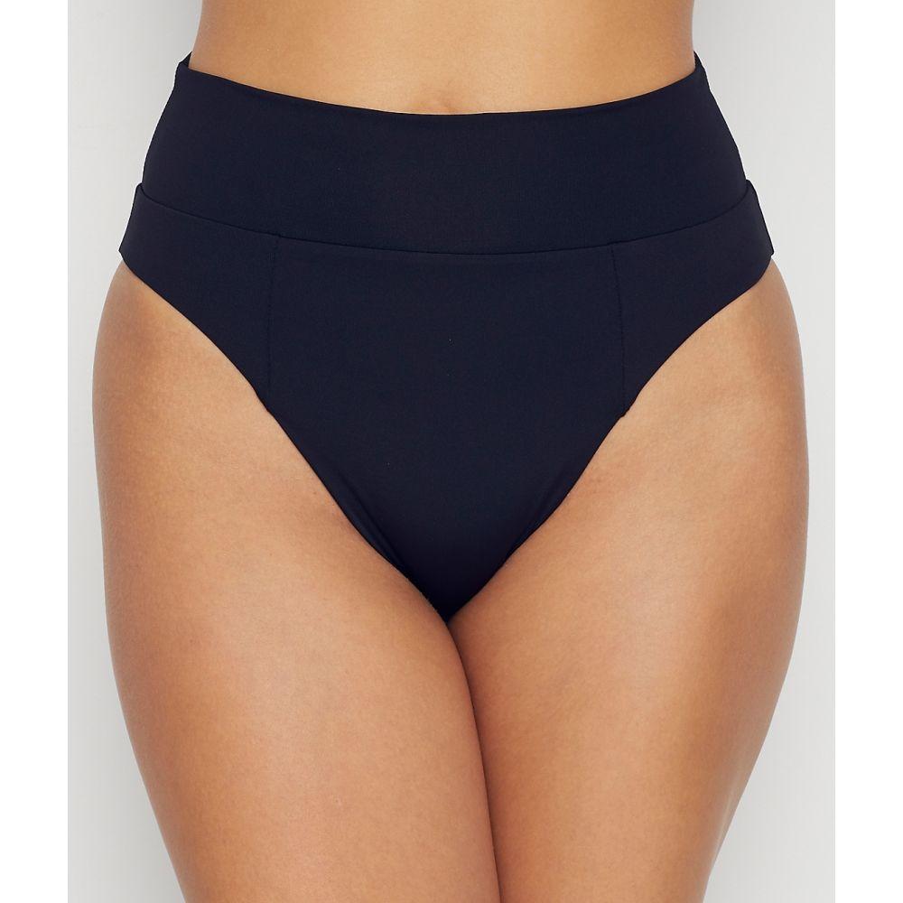 ベッカ Becca レディース ボトムのみ 水着・ビーチウェア【Color Code High-Waist Bikini Bottom】Black