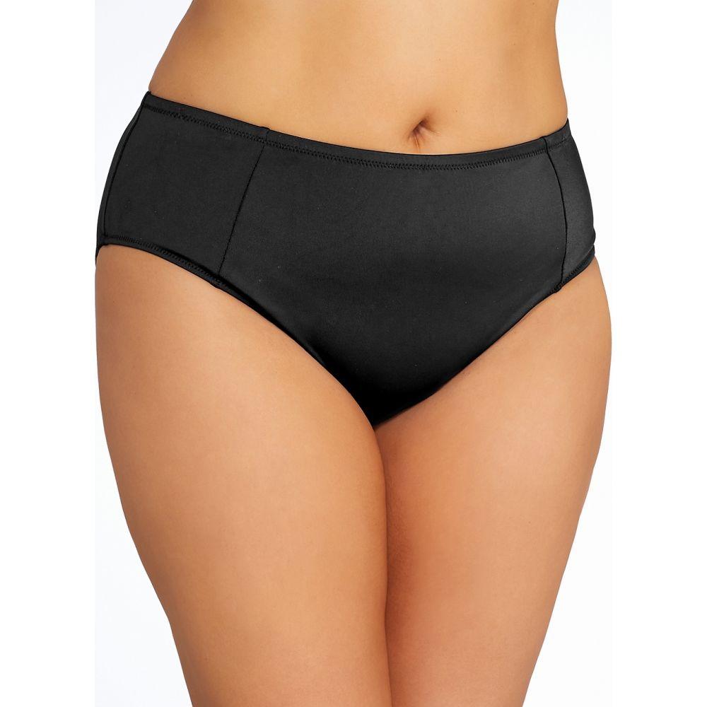 エロミ Elomi レディース ボトムのみ 大きいサイズ 水着・ビーチウェア【Plus Size Essentials Bikini Bottom】Black