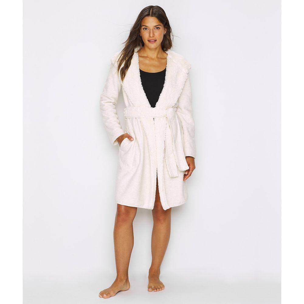 アグ UGG レディース ガウン・バスローブ ショート丈 インナー・下着【Portola Reversible Short Robe】Cream Heather