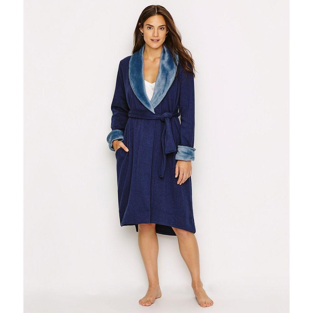 アグ UGG レディース ガウン・バスローブ インナー・下着【Duffield Shawl Collar Plush Robe】Navy Heather