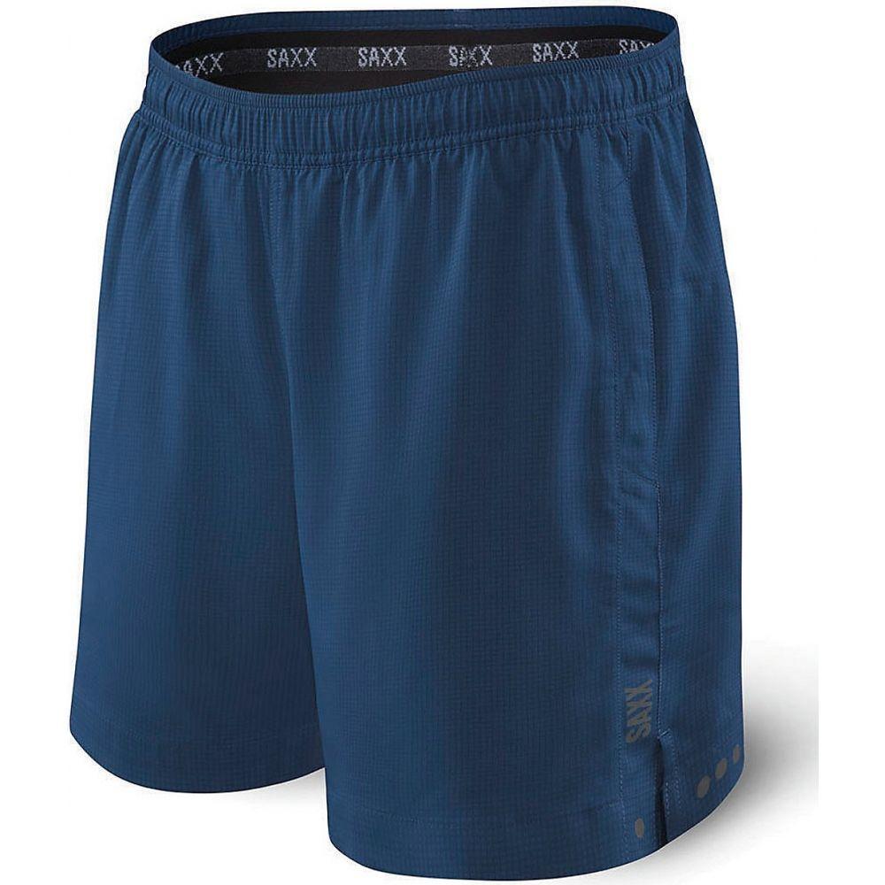 サックス SAXX メンズ フィットネス・トレーニング ショートパンツ ボトムス・パンツ【Kinetic Sport Shorts】Velvet Blue