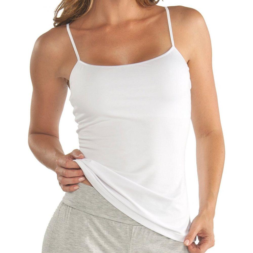 コサベラ Cosabella レディース スリップ・キャミソール インナー・下着【talco micro-modal shelf bra camisole】White