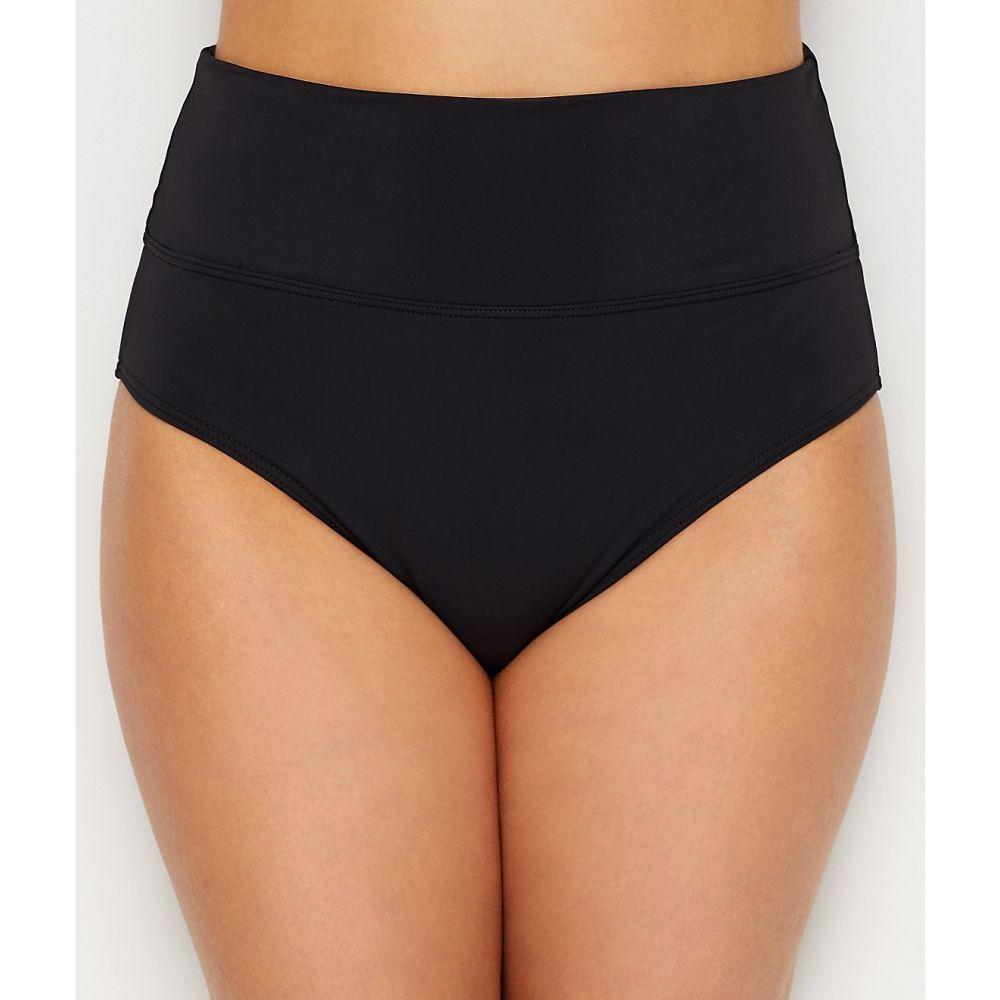 サンセット Sunsets レディース ボトムのみ 水着・ビーチウェア【black fold-over high-waist bikini bottom】Black