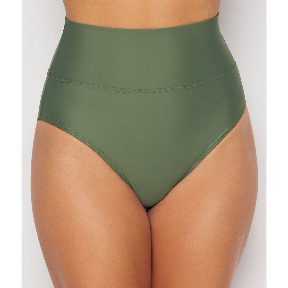 サンセット Sunsets レディース ボトムのみ 水着・ビーチウェア【olive fold-over high-waist bikini bottom】Olive