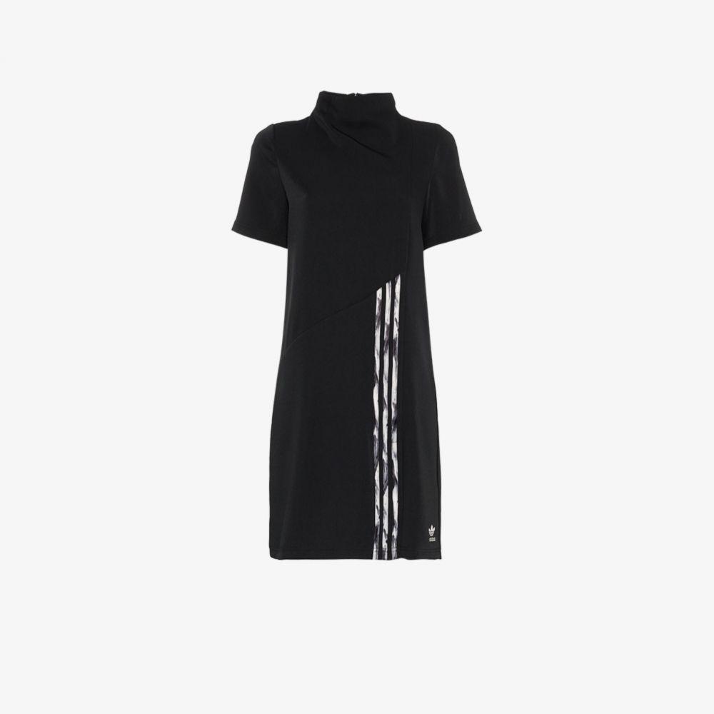 アディダス adidas by Danielle Cathari レディース ワンピース ミニ丈 ワンピース・ドレス【high neck mini dress】black