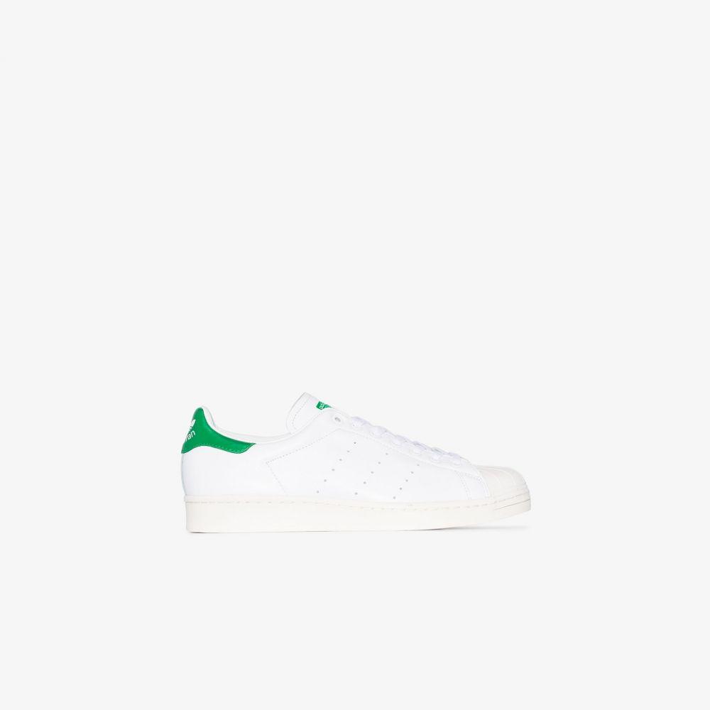 アディダス adidas メンズ スニーカー シューズ・靴【white superstan leather sneakers】white