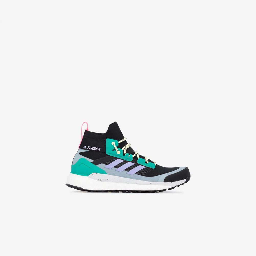 アディダス adidas メンズ スニーカー シューズ・靴【multicoloured Terrex Free Hiker high top sneakers】black