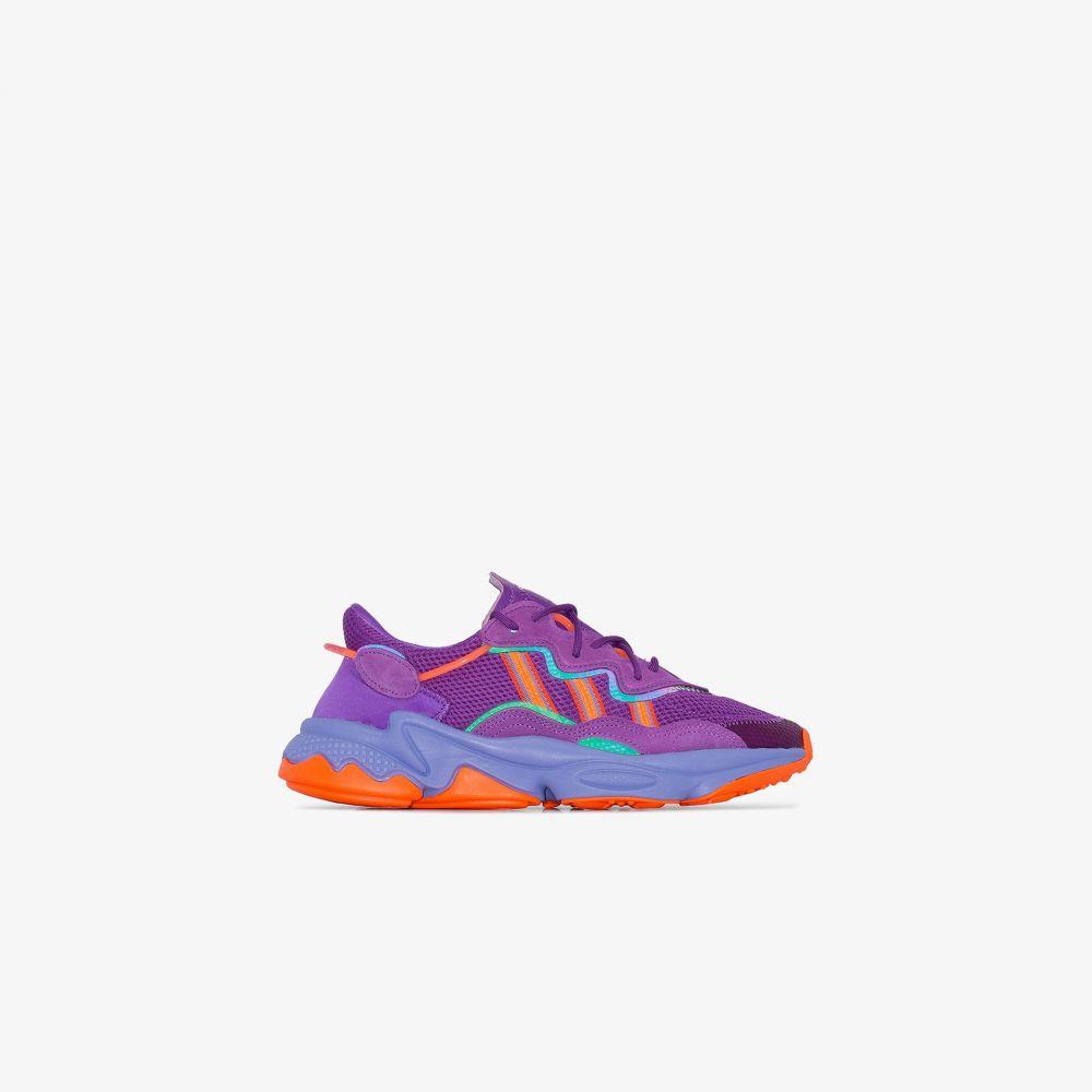 アディダス adidas レディース スニーカー ローカット シューズ・靴【purple Ozweego low top sneakers】purple