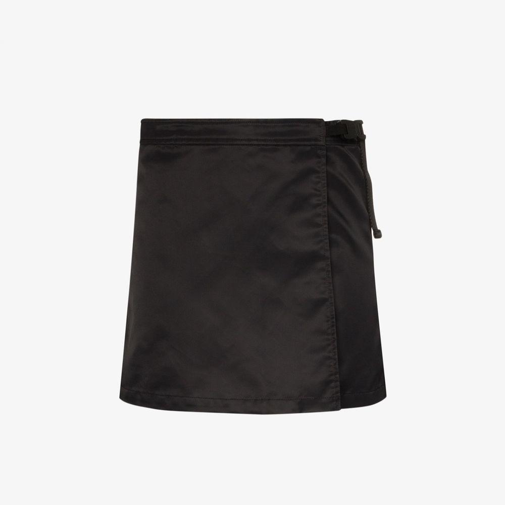アリクス 1017 ALYX 9SM レディース ミニスカート ラップスカート スカート【wrap mini skirt】black