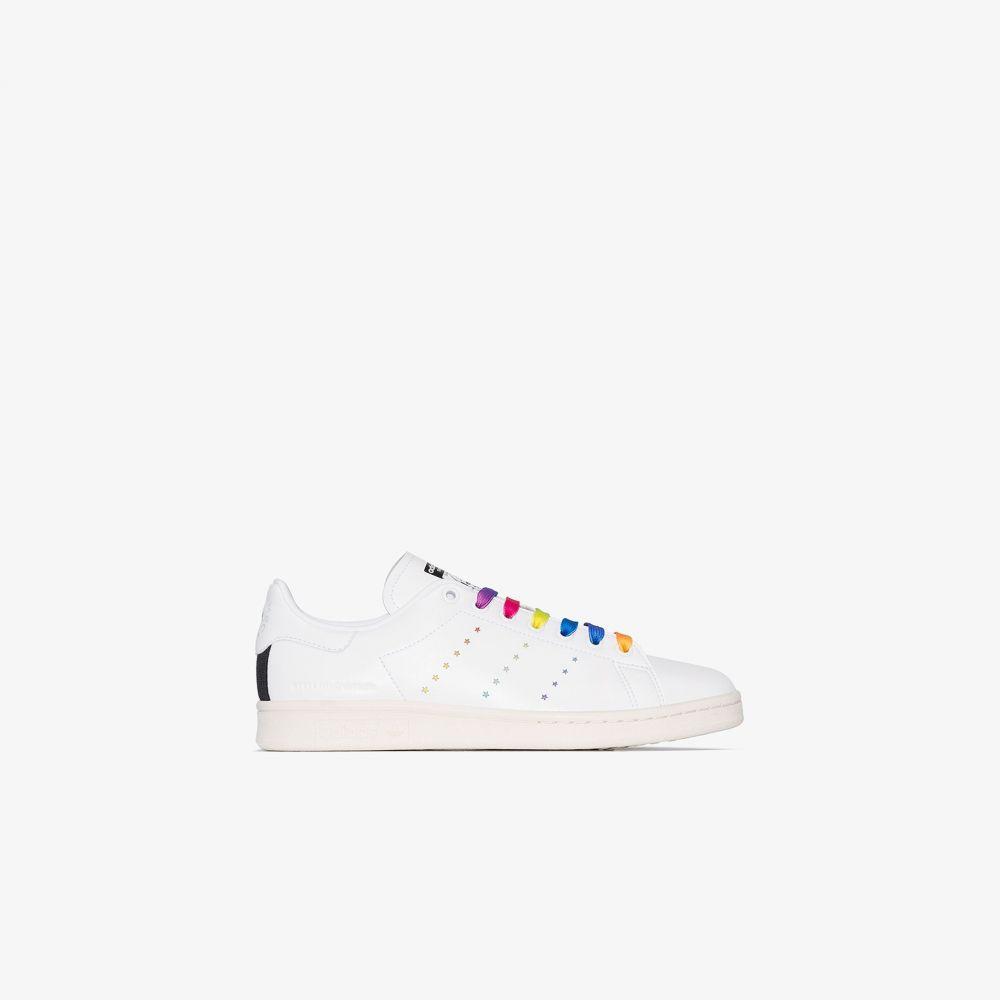 アディダス adidas by Stella McCartney レディース スニーカー スタンスミス シューズ・靴【White Stan Smith sneakers】white