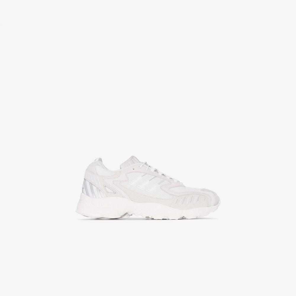 アディダス adidas メンズ スニーカー ローカット シューズ・靴【White Torsion low top sneakers】white