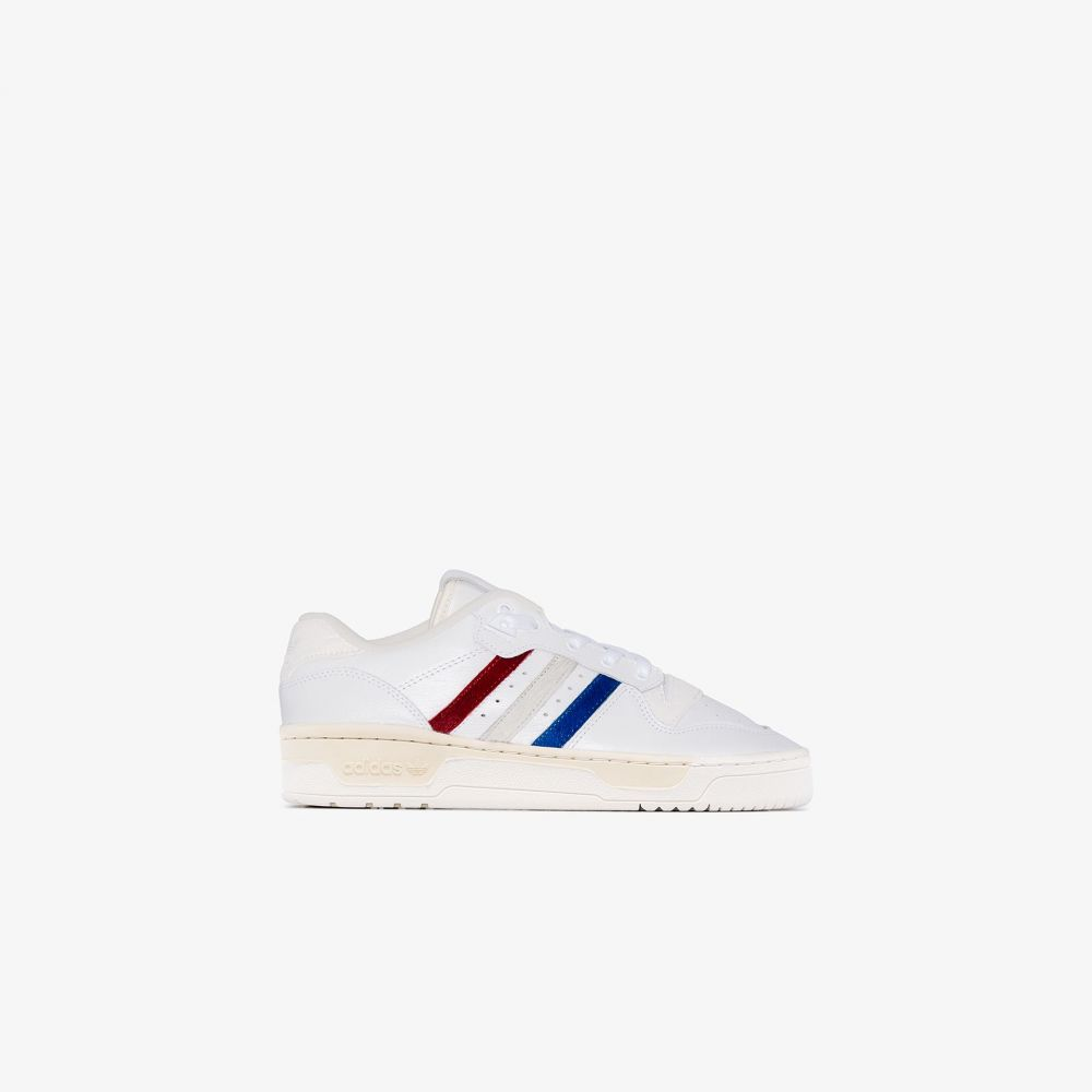 アディダス adidas レディース スニーカー ローカット シューズ・靴【white Rivalry NYFW low top leather sneakers】white