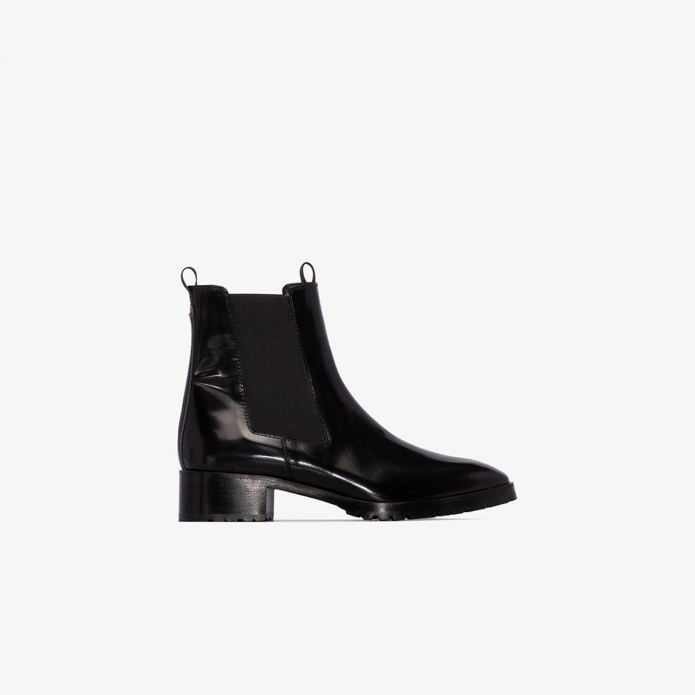 アイデ aeyde レディース ブーツ チェルシーブーツ シューズ・靴【black Karlo leather Chelsea boots】black