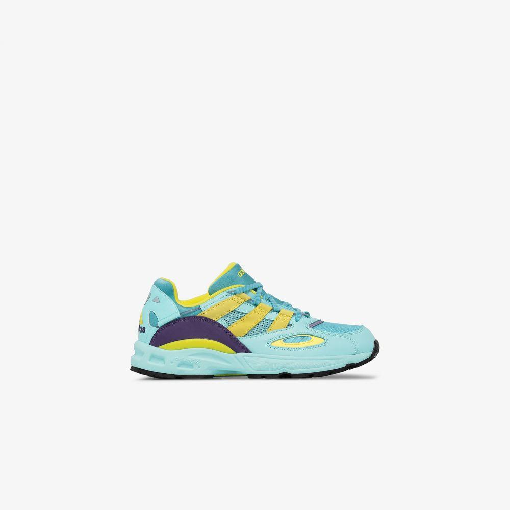 アディダス adidas メンズ スニーカー シューズ・靴【light blue LXCON 94 leather sneakers】green