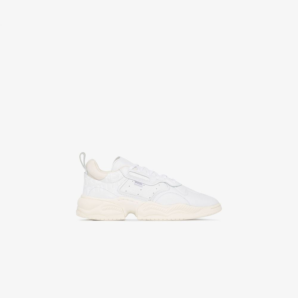 アディダス adidas メンズ スニーカー ローカット シューズ・靴【white supercourt RX low top sneakers】white