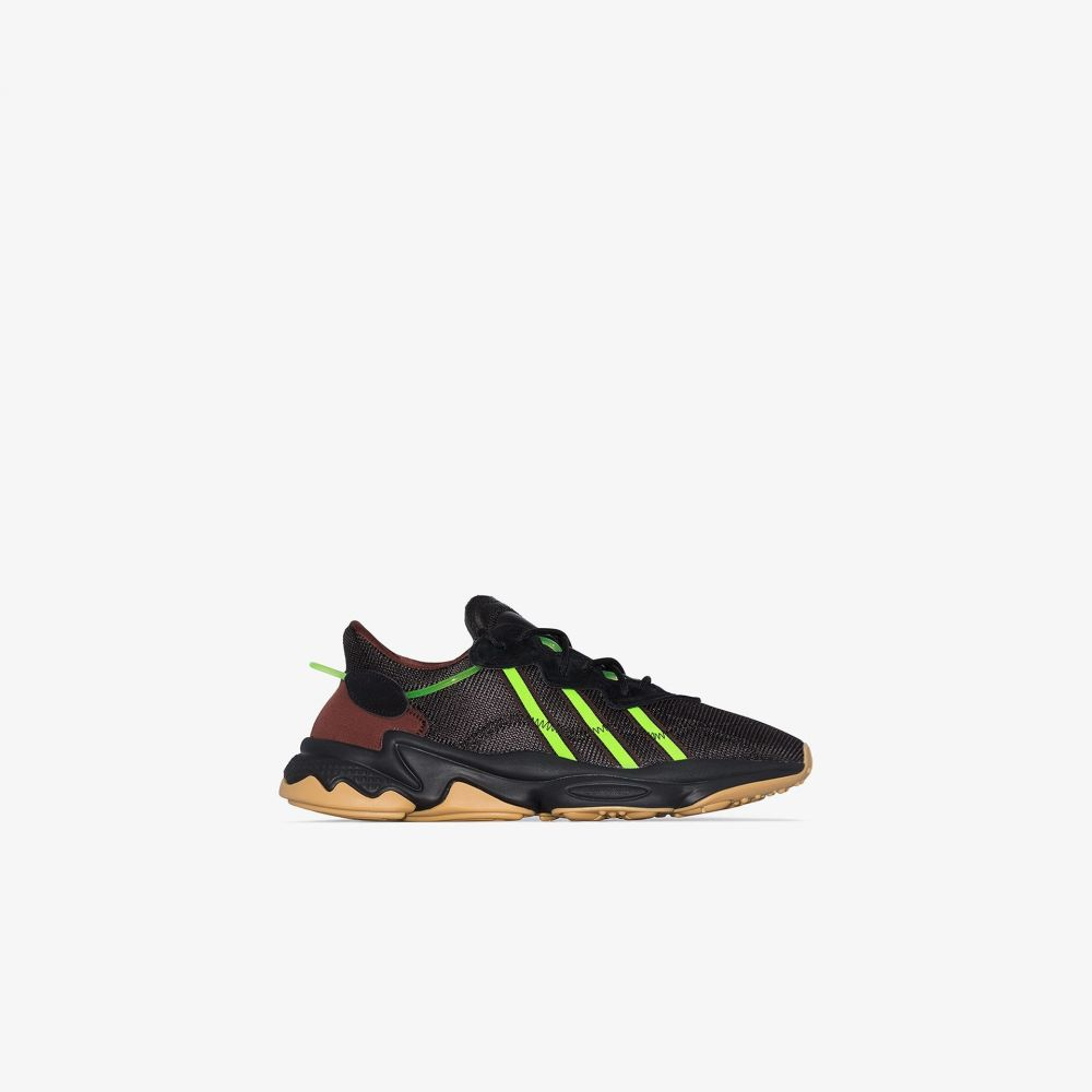 アディダス adidas メンズ スニーカー シューズ・靴【X Pusha T Ozweego black sneakers】black