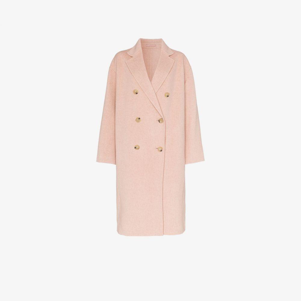 アクネ ストゥディオズ Acne Studios レディース コート ダブルブレストコート アウター【Double-Breasted Cocoon Coat】pink