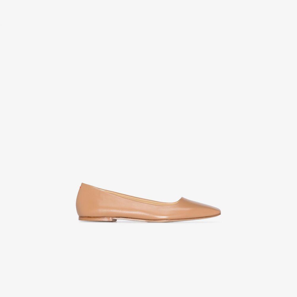 アイデ aeyde レディース パンプス シューズ・靴【brown gina leather pumps】brown
