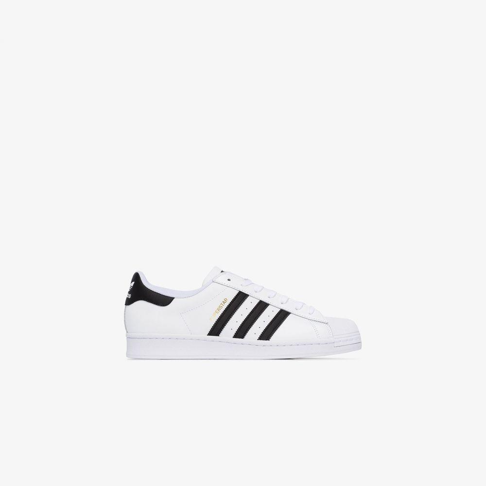 アディダス adidas メンズ スニーカー シューズ・靴【White Superstar leather sneakers】white