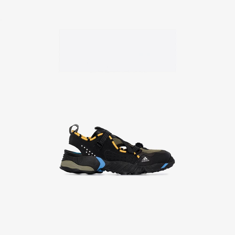アディダス adidas メンズ スニーカー シューズ・靴【black Novaturbo sneakers】black