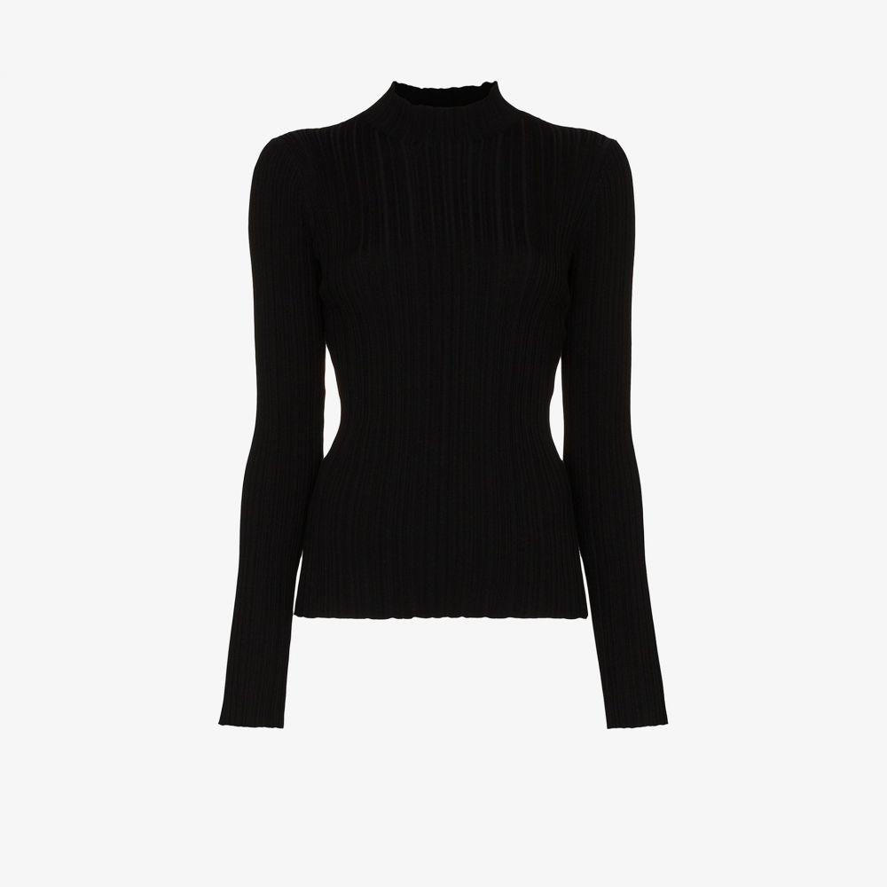 アクネ ストゥディオズ Acne Studios レディース ニット・セーター トップス【high neck sweater】black