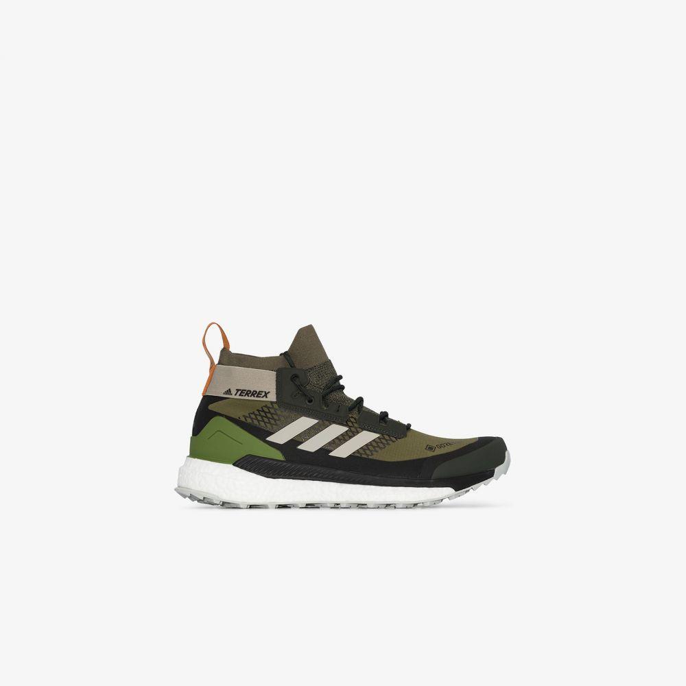 アディダス adidas メンズ スニーカー シューズ・靴【Green Terrex Free Hiker sneakers】green
