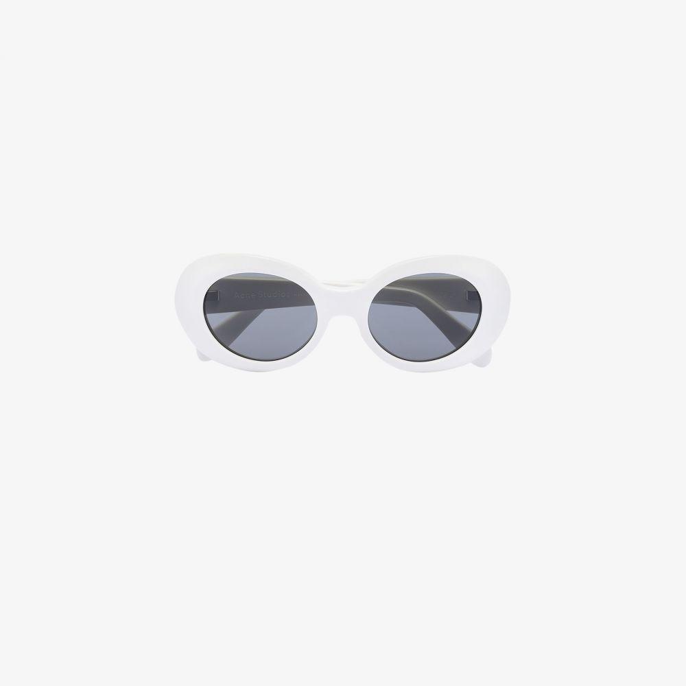 アクネ ストゥディオズ Acne Studios レディース メガネ・サングラス 【white mustang sunglasses】white