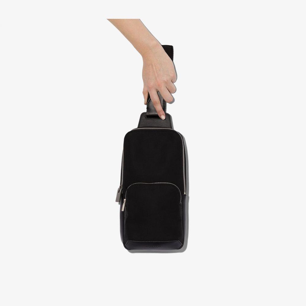 アリクス 1017 ALYX 9SM レディース ショルダーバッグ バッグ【black leather trim cross body bag】black