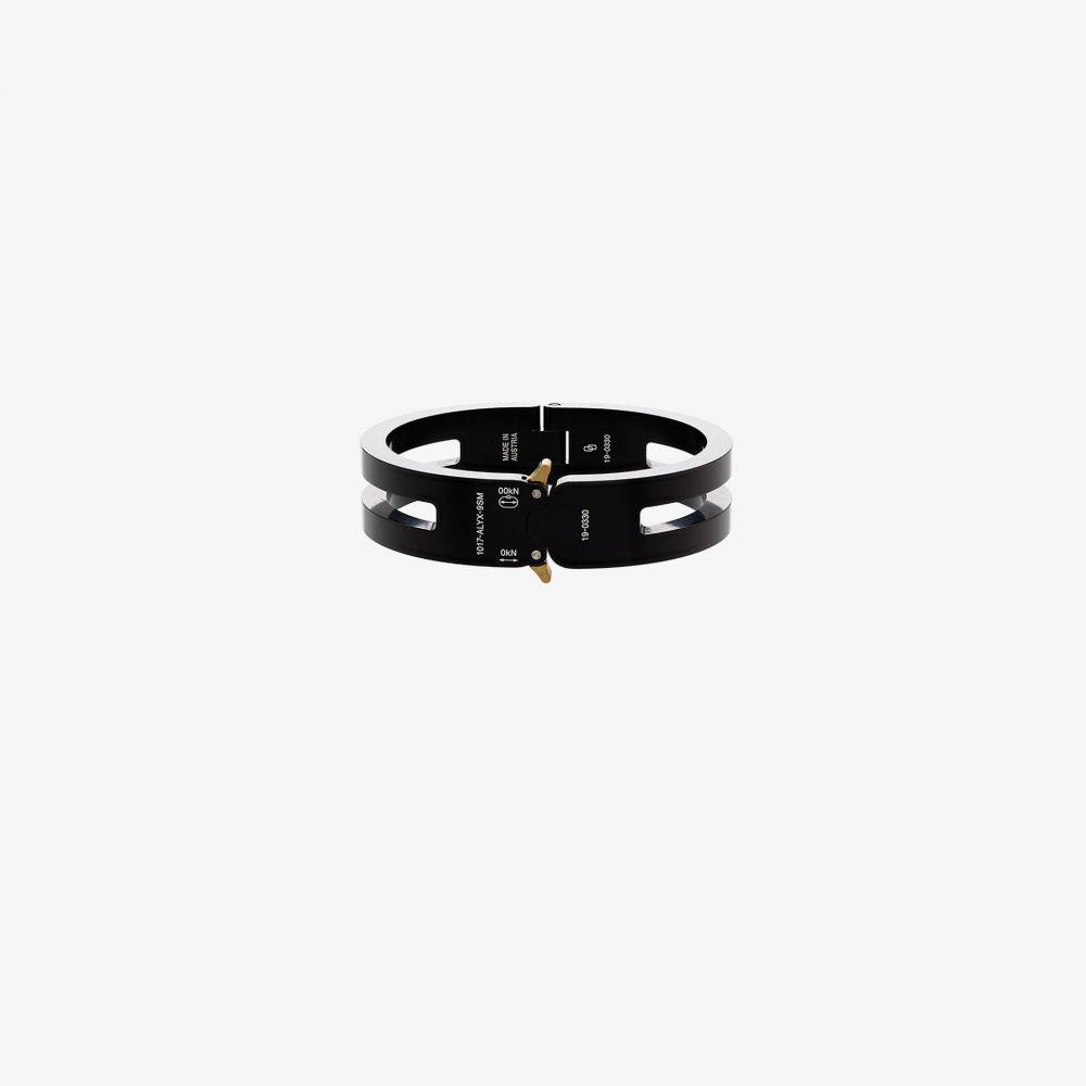 アリクス 1017 ALYX 9SM メンズ ブレスレット ジュエリー・アクセサリー【black rollercoaster buckle bracelet】black