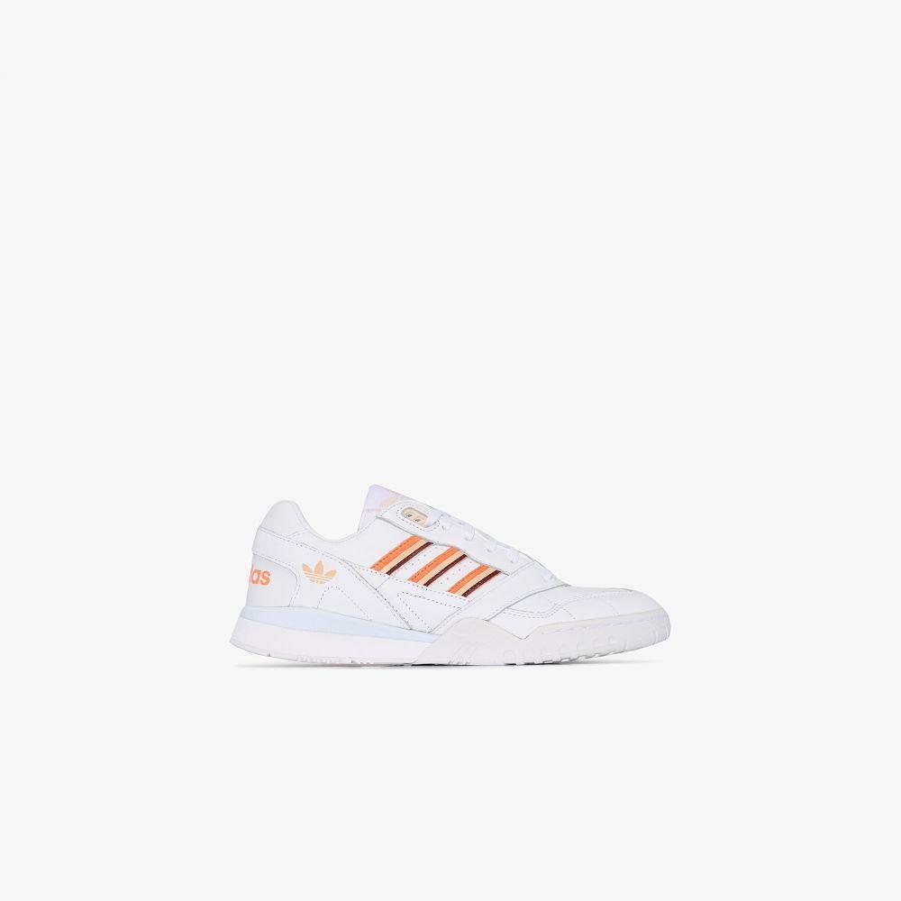 アディダス adidas レディース スニーカー シューズ・靴【White A.R leather sneakers】white