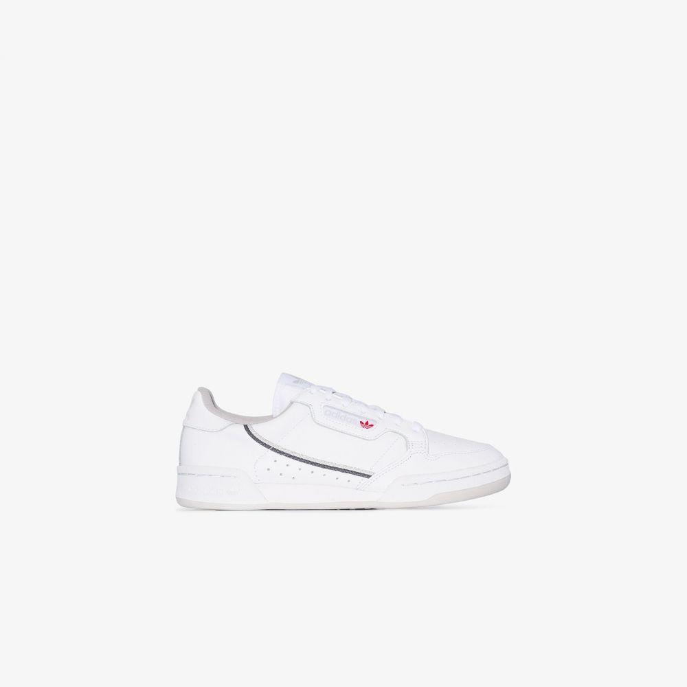 アディダス adidas レディース スニーカー シューズ・靴【white continental 80 leather sneakers】white