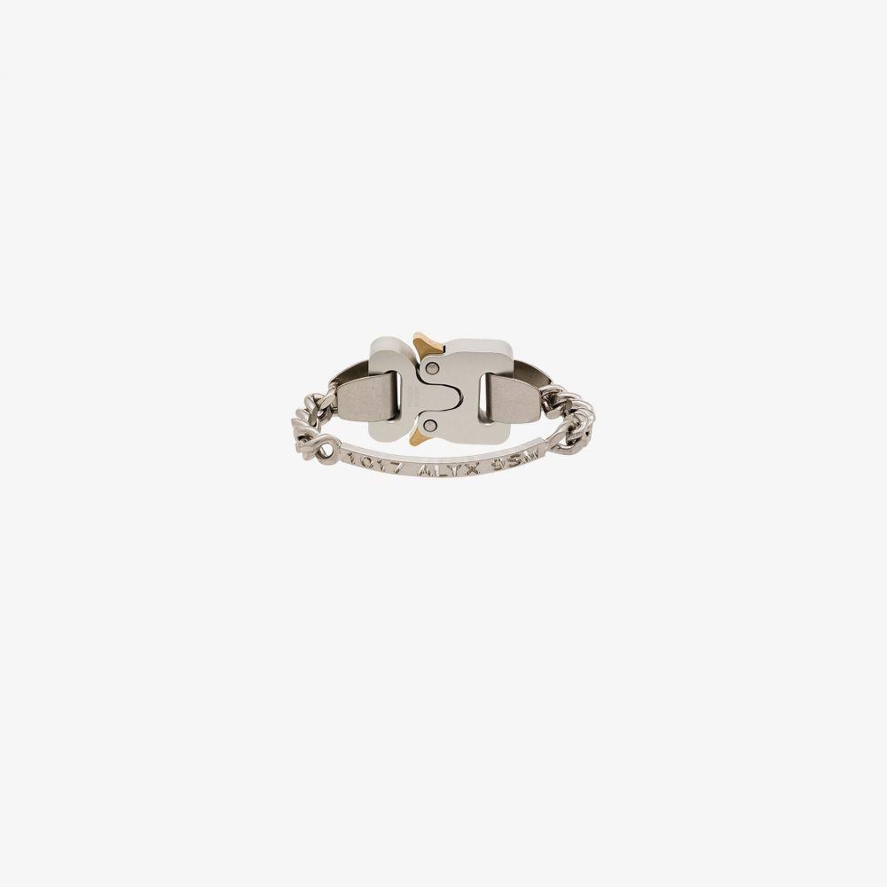 アリクス 1017 ALYX 9SM メンズ ブレスレット ジュエリー・アクセサリー【silver tone logo buckle bracelet】silver