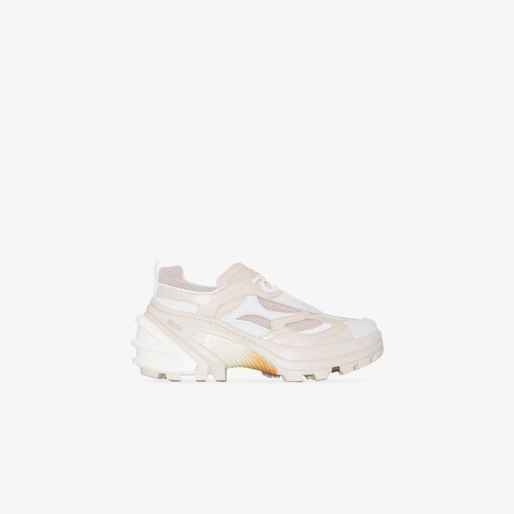 アリクス 1017 ALYX 9SM レディース スニーカー ローカット シューズ・靴【white tonal low top sneakers】white