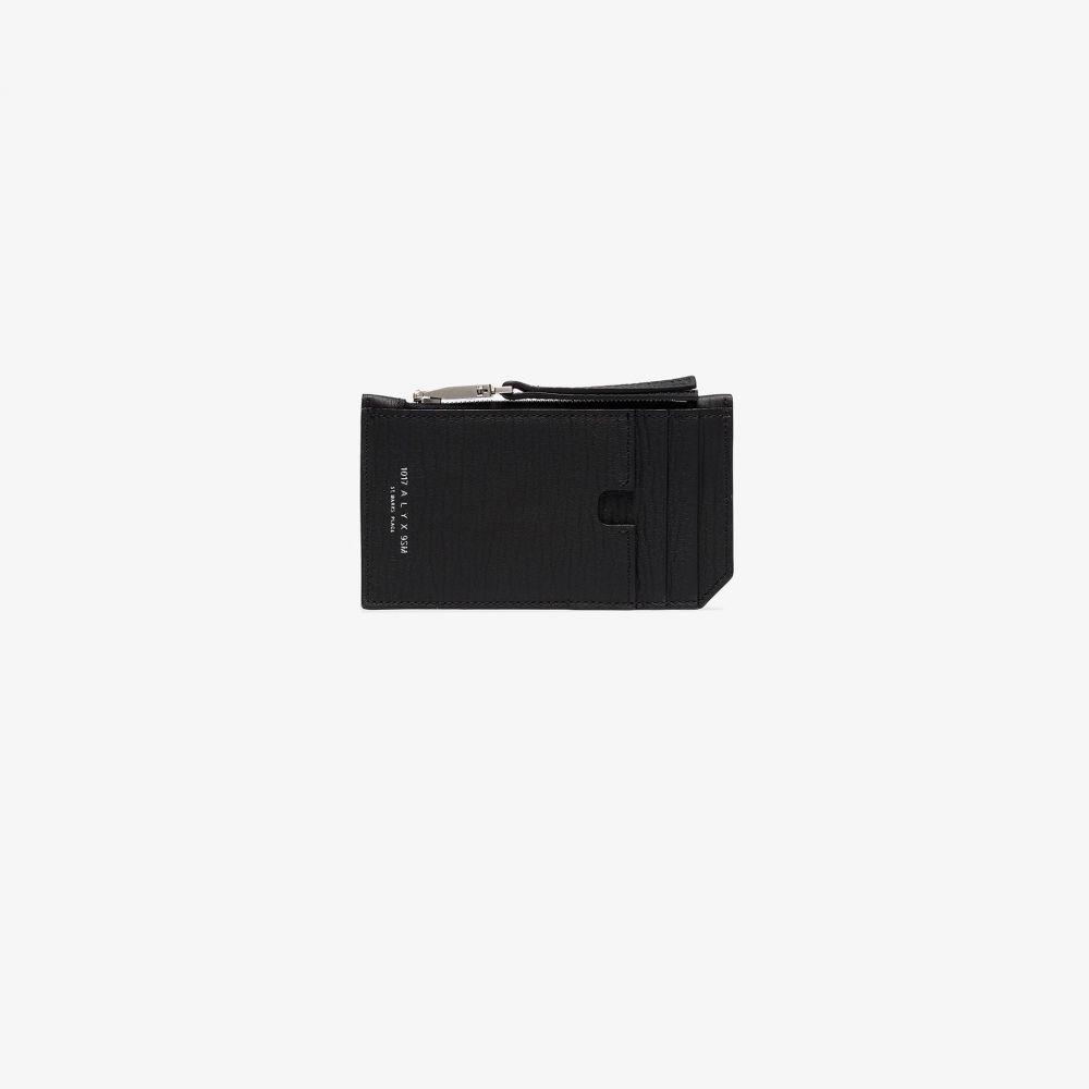 アリクス 1017 ALYX 9SM メンズ カードケース・名刺入れ カードホルダー【black Dani leather card holder】black