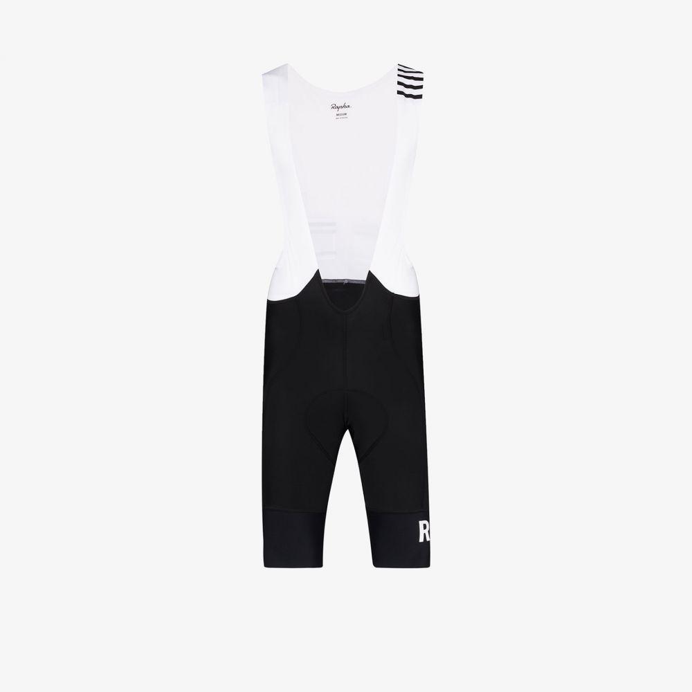 ラファ Rapha メンズ ショートパンツ ボトムス・パンツ【black and white logo print high shorts】black