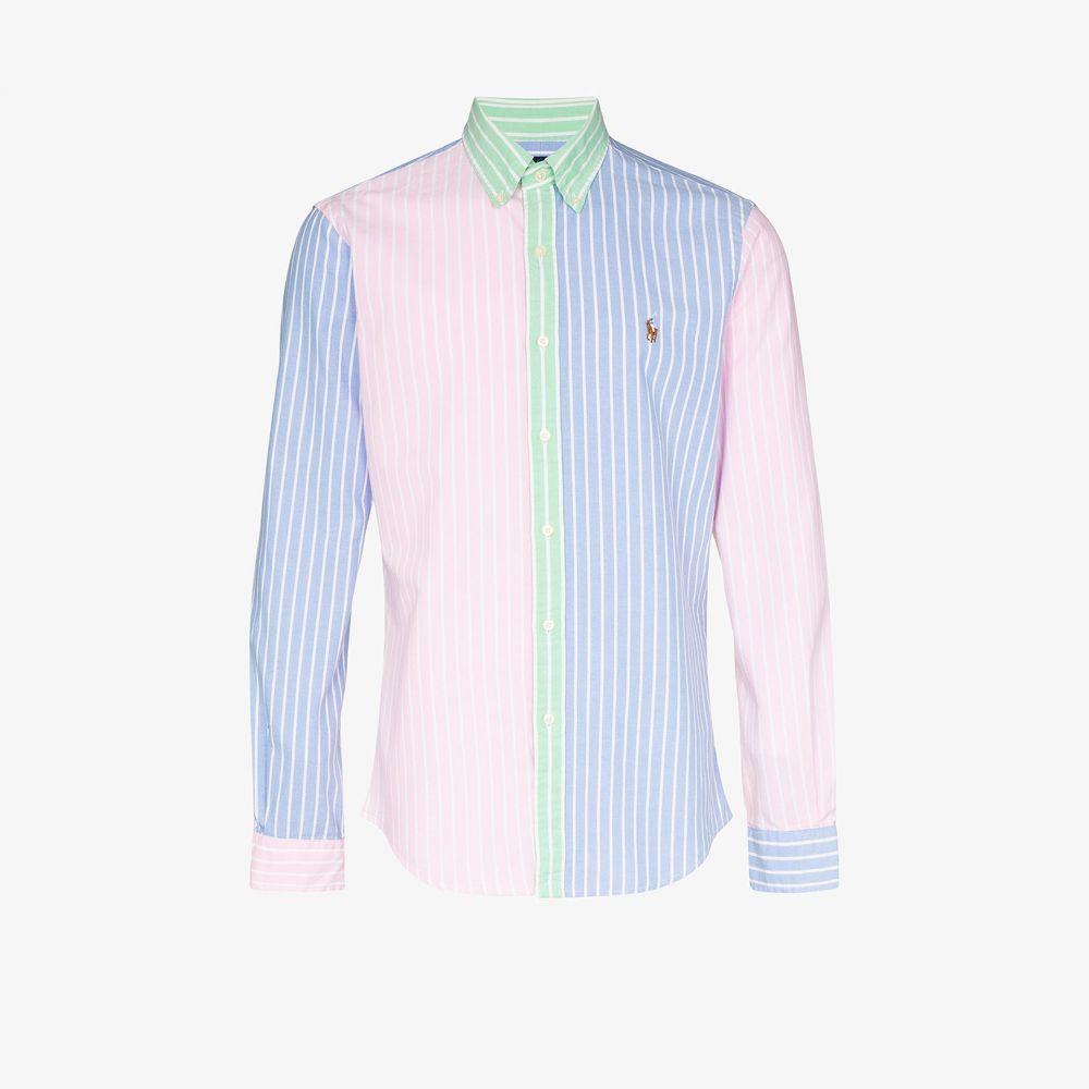 ラルフ ローレン Polo Ralph Lauren メンズ シャツ トップス【colour block Oxford shirt】blue