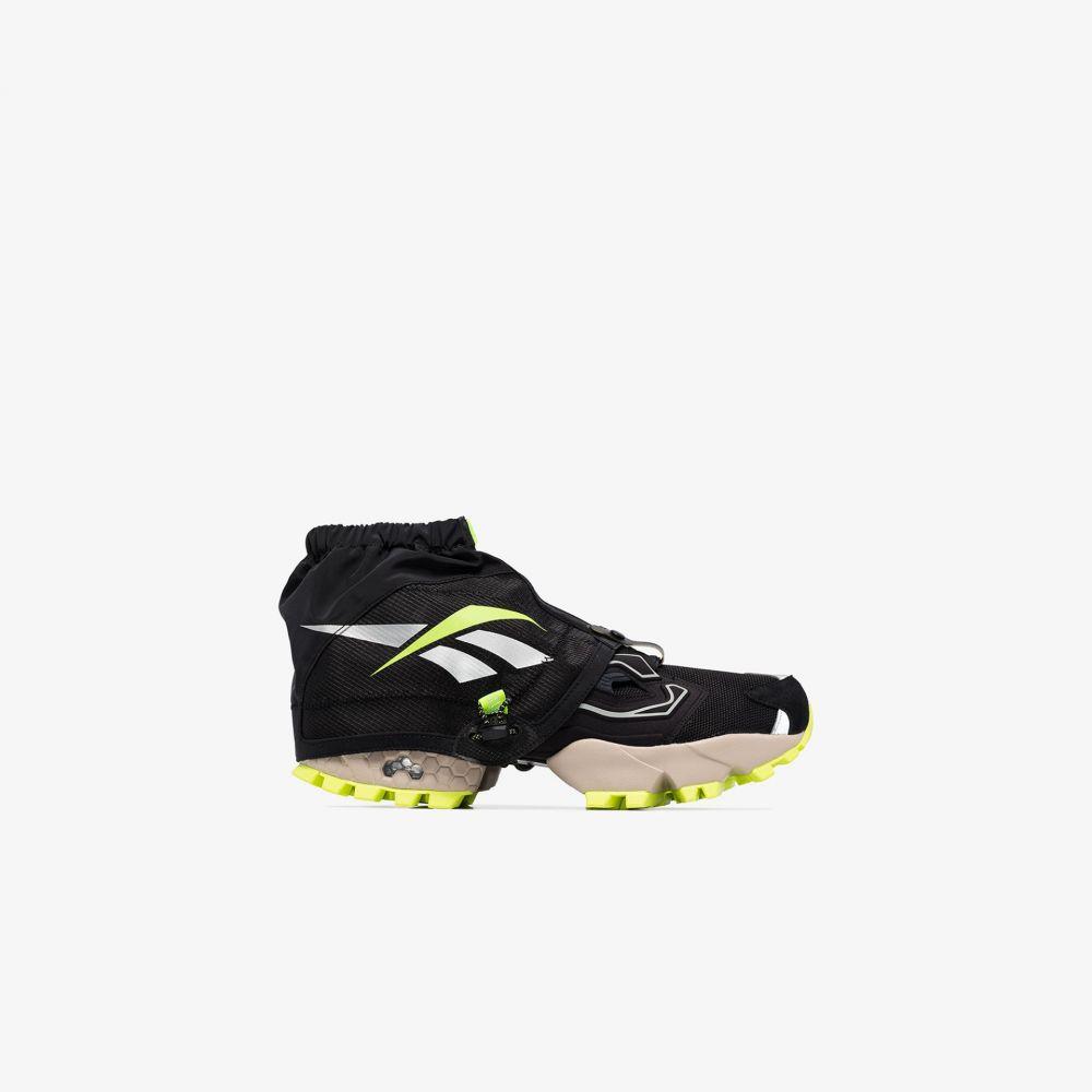 リーボック Reebok メンズ スニーカー シューズ・靴【black Instapump Fury Trail Shroud sneakers】black