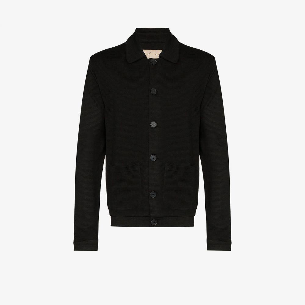 プレヴ Prevu メンズ スーツ・ジャケット アウター【Candreva waffle blazer】black