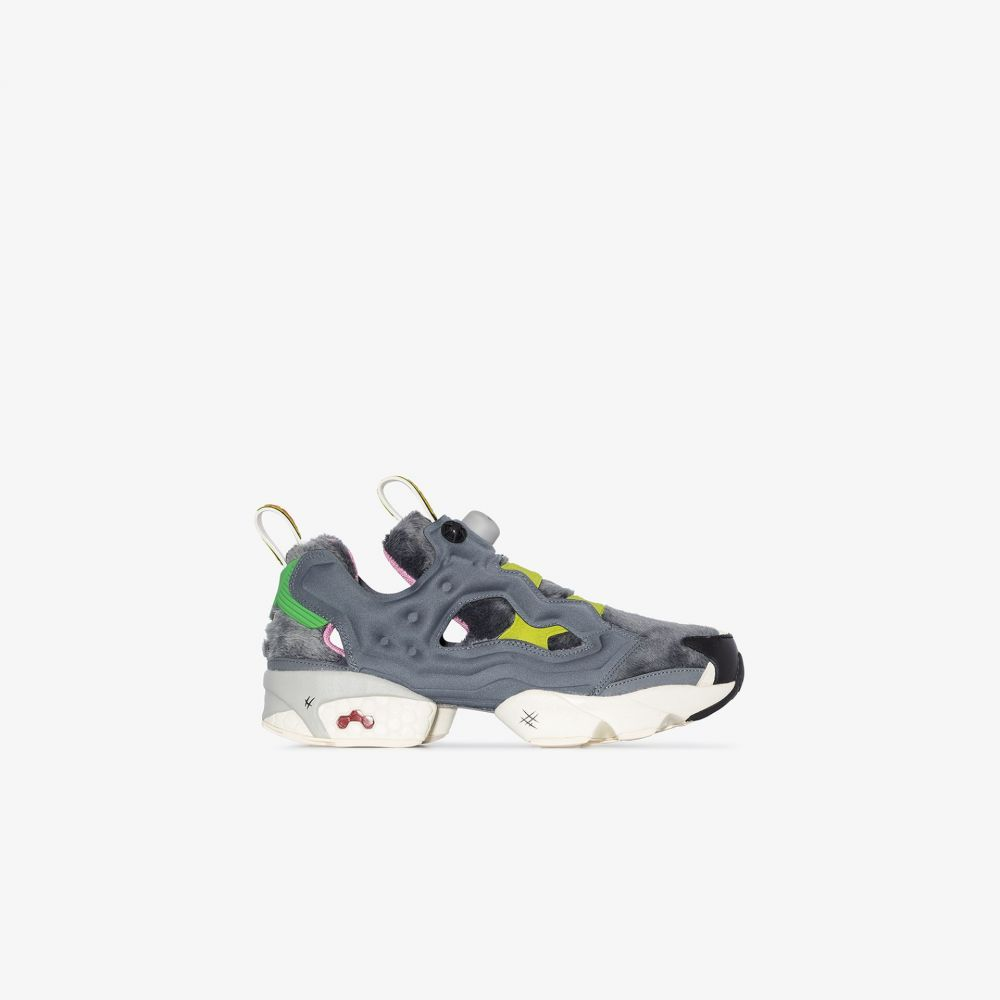 リーボック Reebok メンズ スニーカー シューズ・靴【X Tom and Jerry grey instapump fury OG sneakers】grey