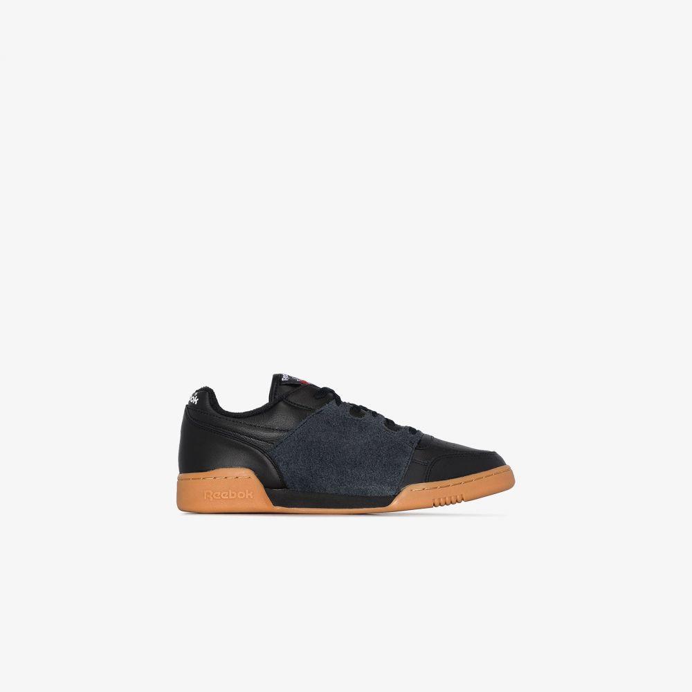 リーボック Reebok メンズ スニーカー シューズ・靴【X Nepenthes Black Workout Leather Sneakers】black