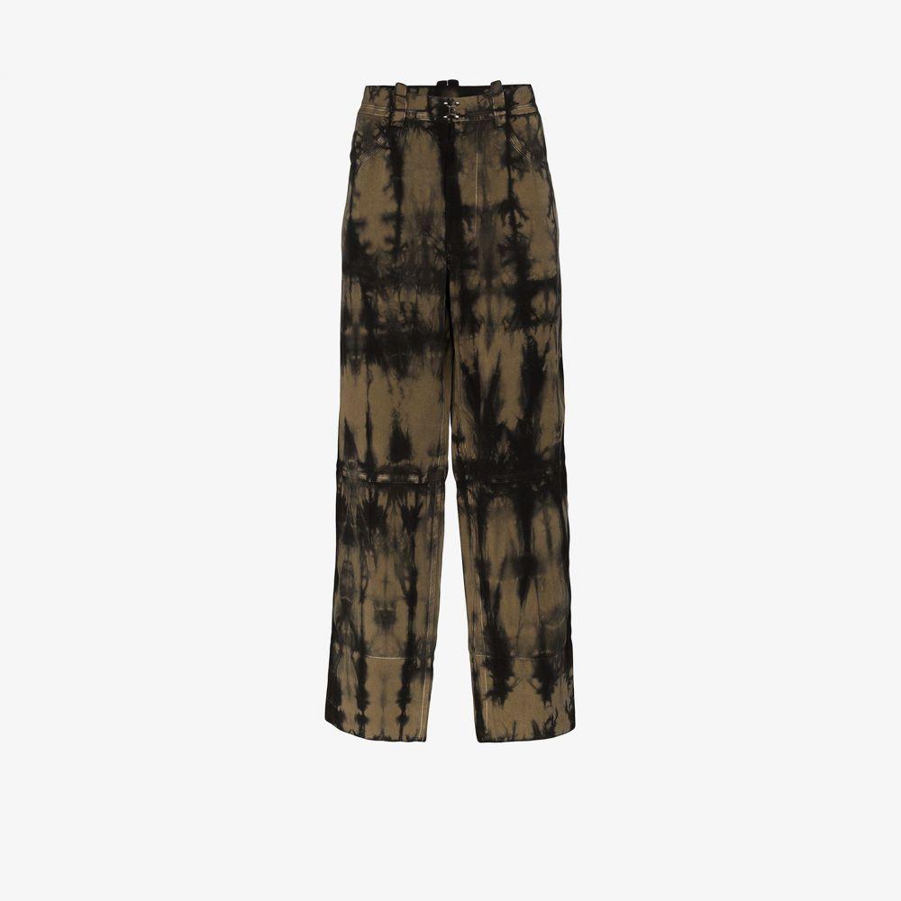 プロナウンス Pronounce メンズ ボトムス・パンツ 【tie-dye straight leg trousers】green