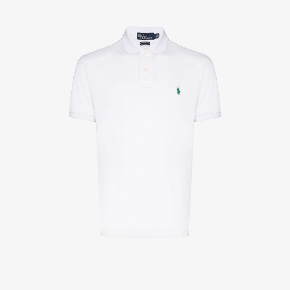 ラルフ ローレン Polo Ralph Lauren メンズ ポロシャツ トップス【Earth recycled polo shirt】white