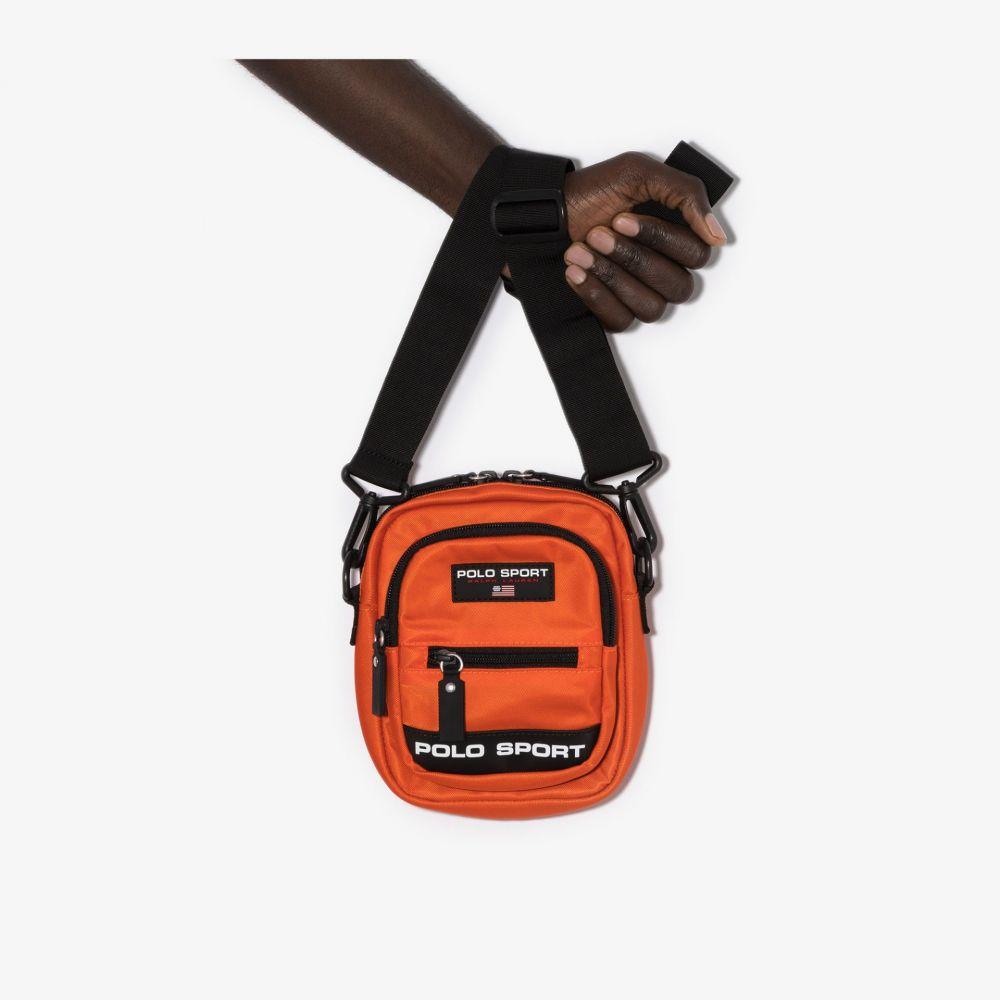 ラルフ ローレン Polo Ralph Lauren メンズ メッセンジャーバッグ バッグ【orange sport logo messenger bag】orange