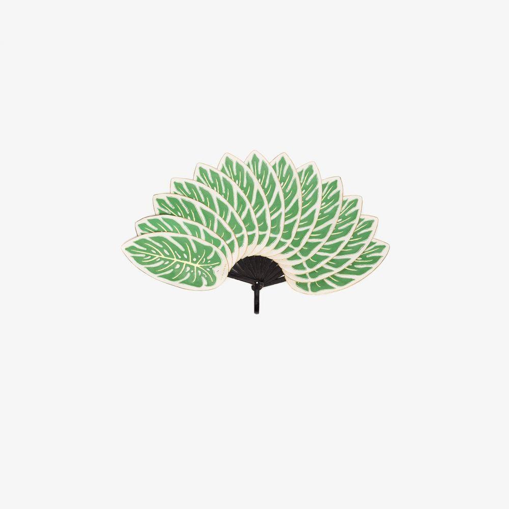 【Green レディース 雑貨 fan】green Pubumesu leaf